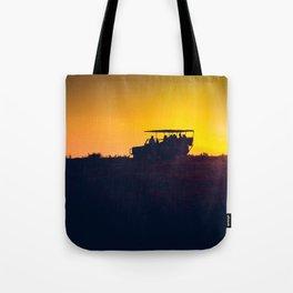 Morning African Safari Tote Bag