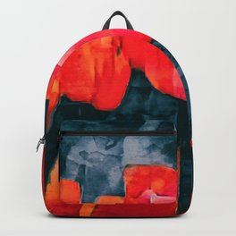 Tulip Field at Night Backpack