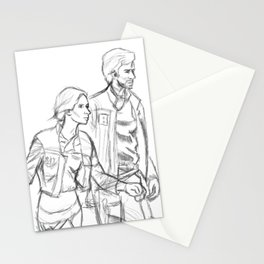 Rebelcaptain Sketch Stationery Cards
