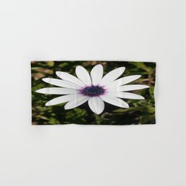 White African Daisy Hand & Bath Towel