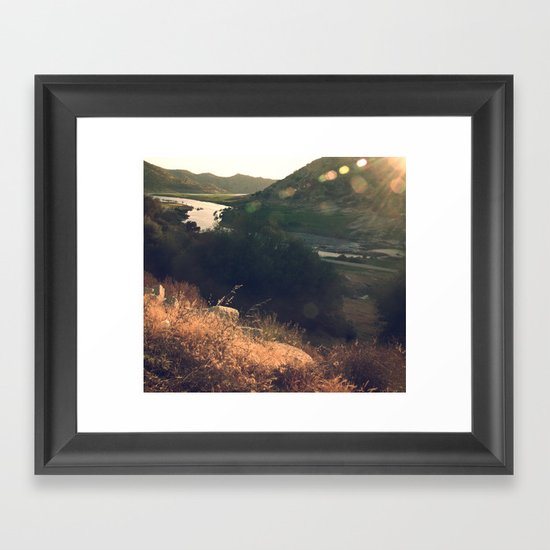 California dreaming (3) Framed Art Print