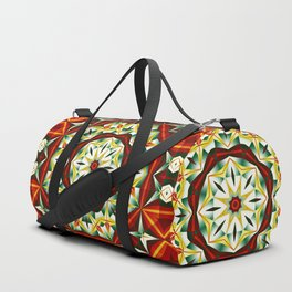 Winter cheer, abstract pattern design Duffle Bag