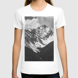 Black and White Canadian Rockies T-shirt