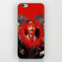 vendetta iPhone & iPod Skins featuring VENDETTA by DIVIDUS DESIGN STUDIO