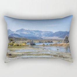 Mono Lake Tufa, No. 5 Rectangular Pillow