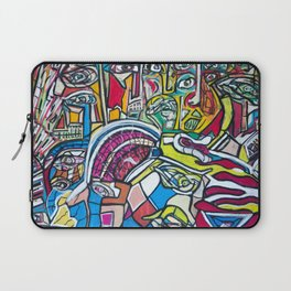 Study For A Face Laptop Sleeve