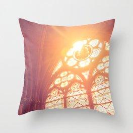 Light of Heaven Throw Pillow