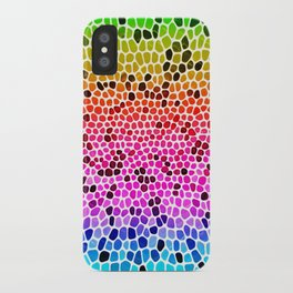 THINK RAINBOW iPhone Case