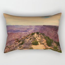 Grand Canyon before sunset. Rectangular Pillow