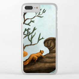 Ratatosk and the Eagle Clear iPhone Case
