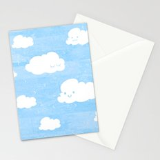 Weekends and Clouds Stationery Cards
