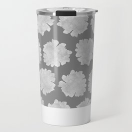 Gardenia Pattern - dedicated to Billie Holiday Travel Mug