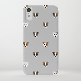 Jack Russell puppies iPhone Case