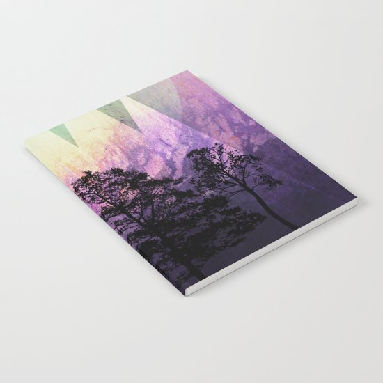 TREES under MAGIC MOUNTAINS VII Notebook