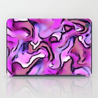 percy jackson iPad Cases featuring Design PERCY abstract,pink by MehrFarbeimLeben