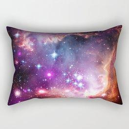 Small Magellanic Cloud Galaxy Rectangular Pillow