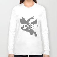 starfox Long Sleeve T-shirts featuring FIYER by Kieran Bird