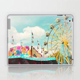 summer carnival fun Laptop & iPad Skin