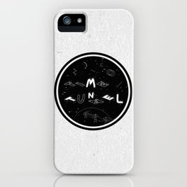 TIME TUNNEL iPhone Case