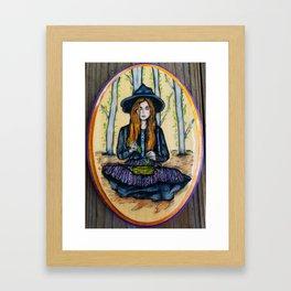 The Herbalist Framed Art Print
