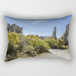 Mono Lake Tufa, No. 3 Rectangular Pillow