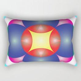 Atoms 28 Rectangular Pillow
