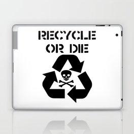 Recycle Black Laptop & iPad Skin