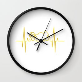 Electromoto Wall Clock