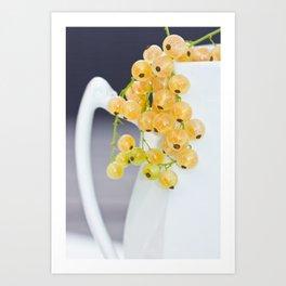 Yellow Currants Art Print