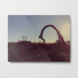 DESERT (VINTAGE) Metal Print