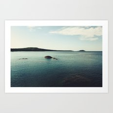 Lake Superior Landscape Art Print