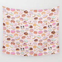 Mmm... Donuts! Wall Tapestry