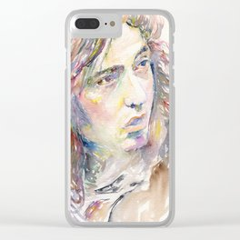 Rory Gallagher Clear iPhone Case