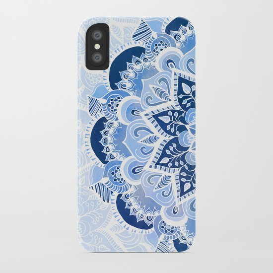 Lacy Blues iPhone Case