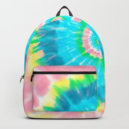 Colorful Tie Dye Shibori Backpack