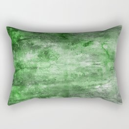Mystery of the Forest - Acrylic mixed media painting Rectangular Pillow