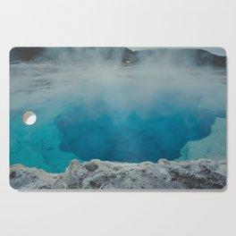 Sapphire Pool. Yellowstone National Park. Wyoming. USA. Cutting Board