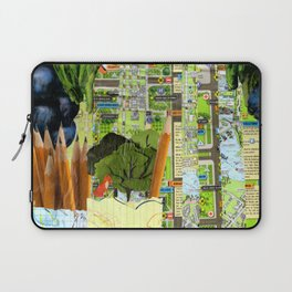 Little Red Fox Laptop Sleeve