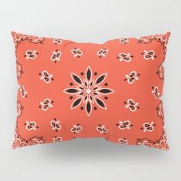 red bandana Pillow Sham