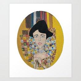 Adele Bloch-Bauer I Art Print