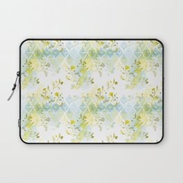Oasis Floral Pattern Laptop Sleeve