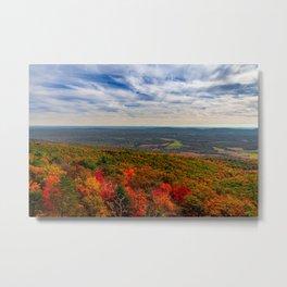 Catskills Autumn Foliage Metal Print