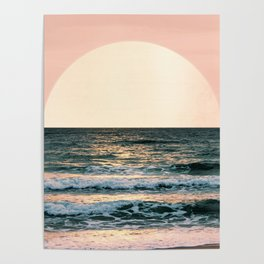 Summer Sunset Poster