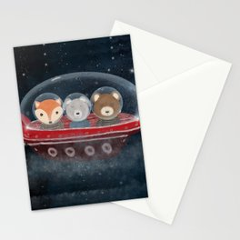 a little space adventure Stationery Cards