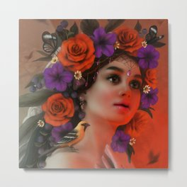 Day of the Dead (without makeup) Metal Print