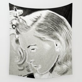 Lauren Bacall Wall Tapestry