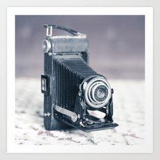 Vintage Camera Kodak Art Print