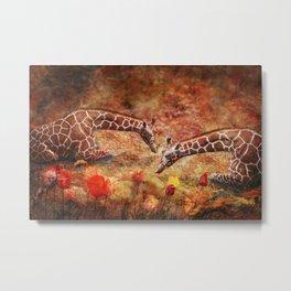Garden Whimsey Metal Print