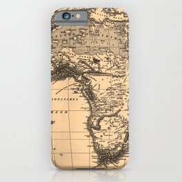Iconographic Encyclopedia of Science, Literature and Art (1851) - Map of Africa iPhone Case