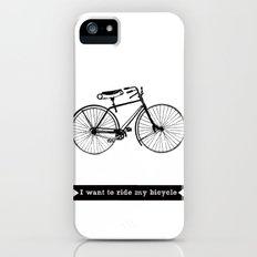 bicycle Slim Case iPhone (5, 5s)